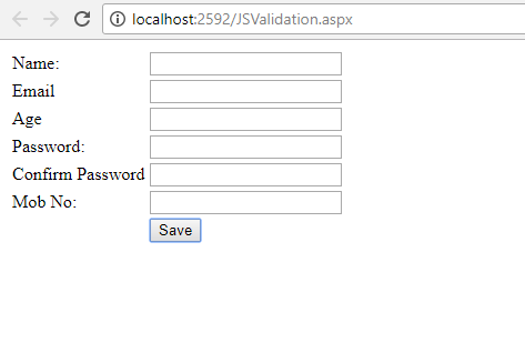 Validating listbox in asp net